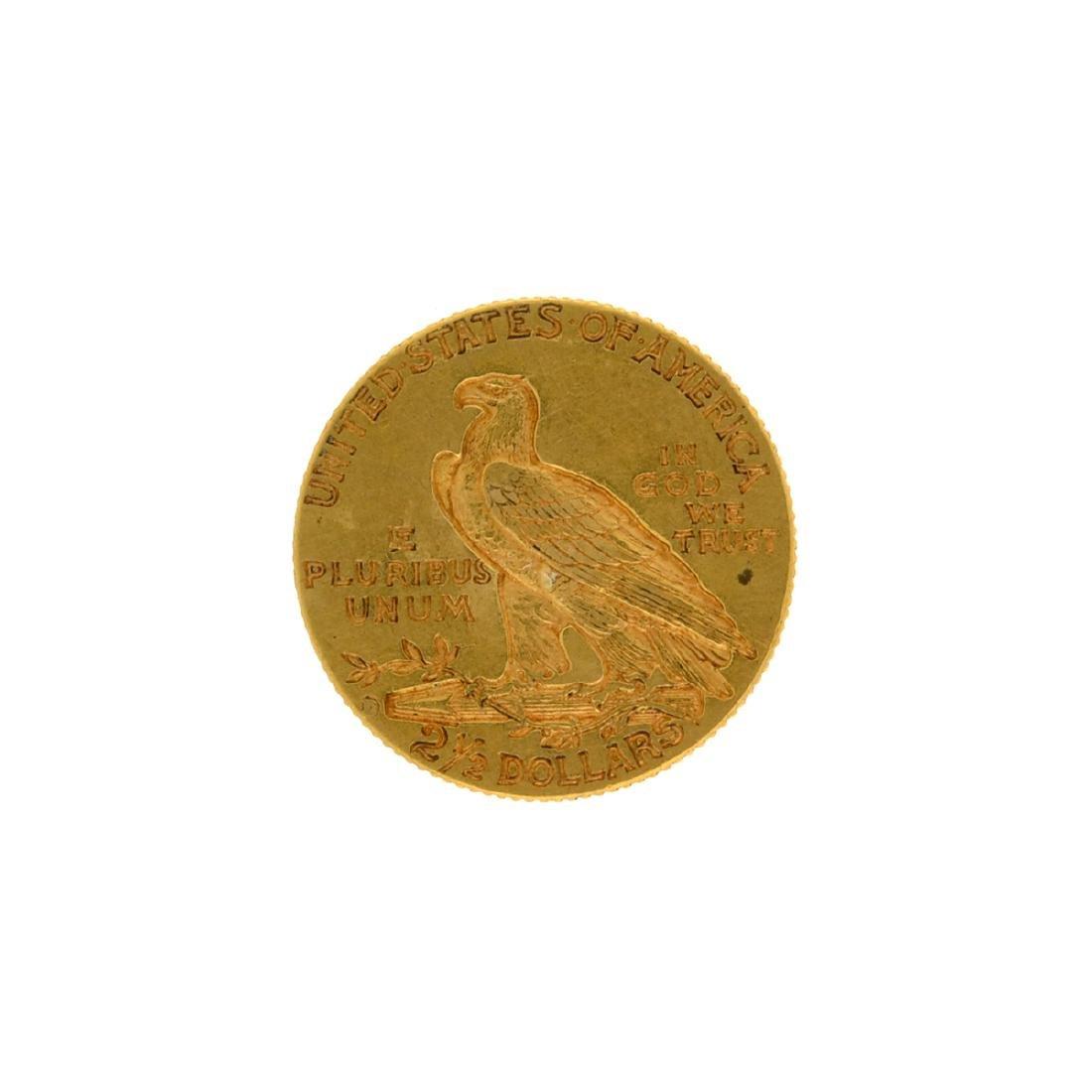 *1914-D $2.5 Indian Head Gold Coin (DF) - 2