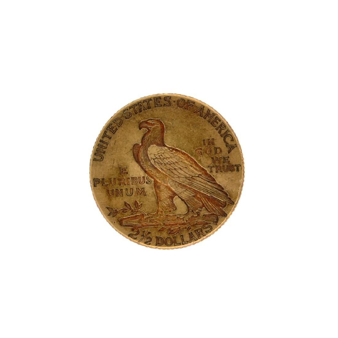 *1925-D $2.5 Indian Head Gold Coin (DF) - 2