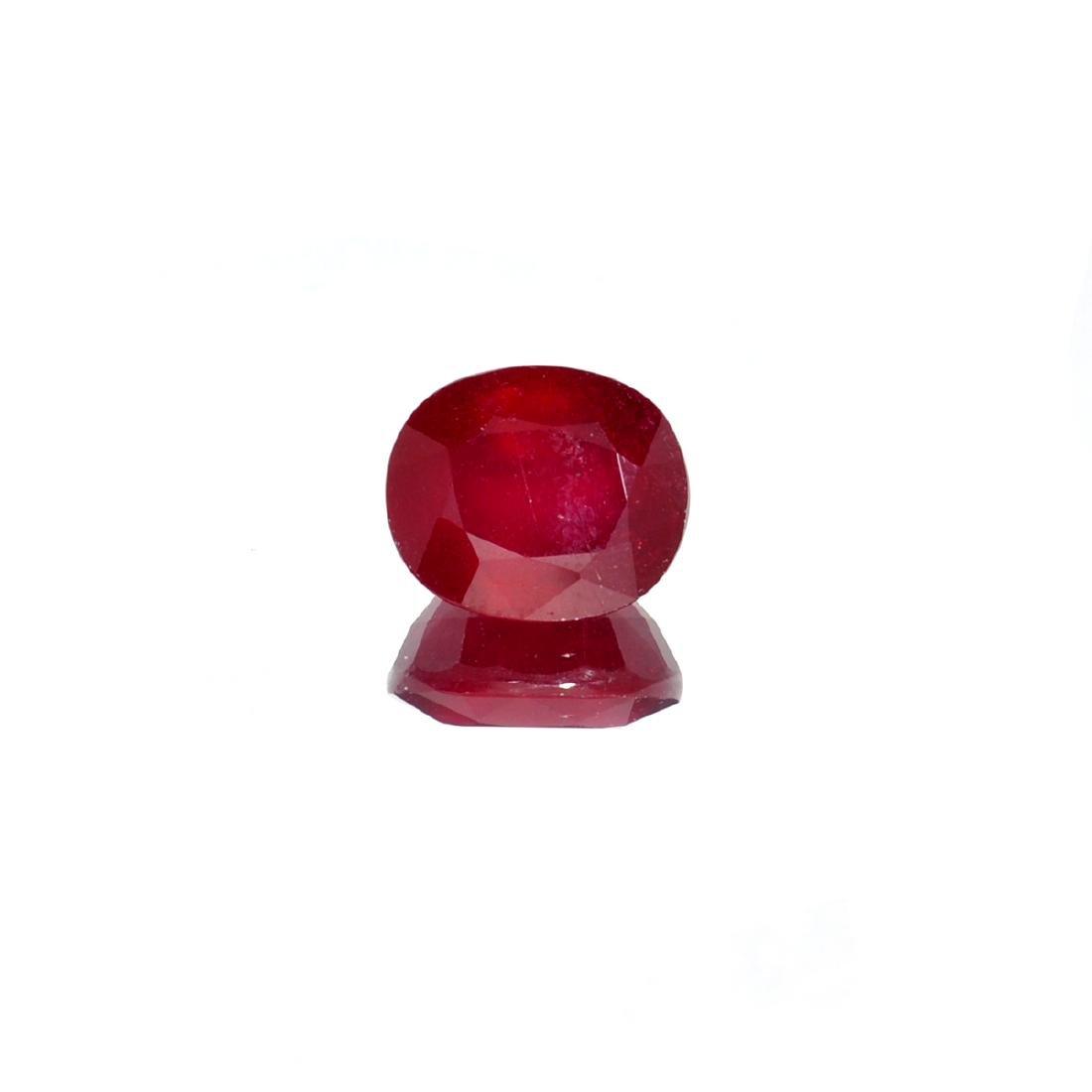 APP: 2.9k 11.04CT Oval Cut Ruby Gemstone