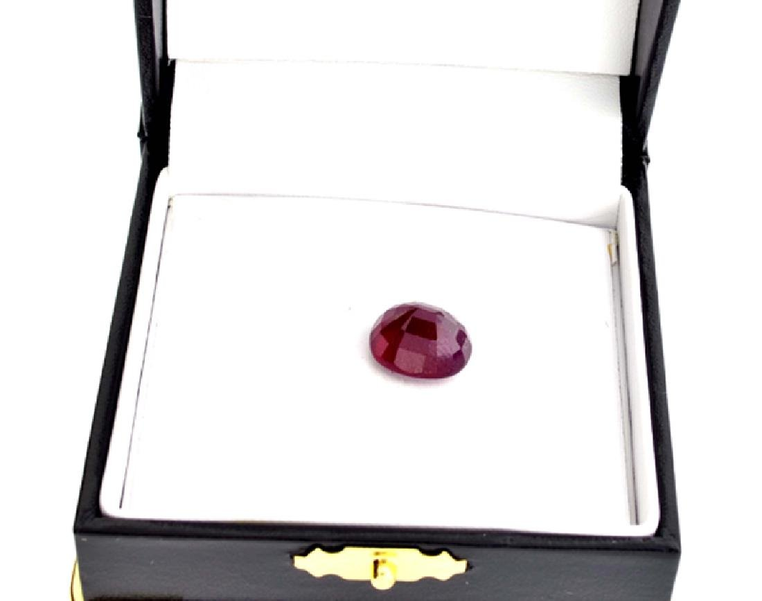 APP: 2.9k 11.04CT Oval Cut Ruby Gemstone - 2