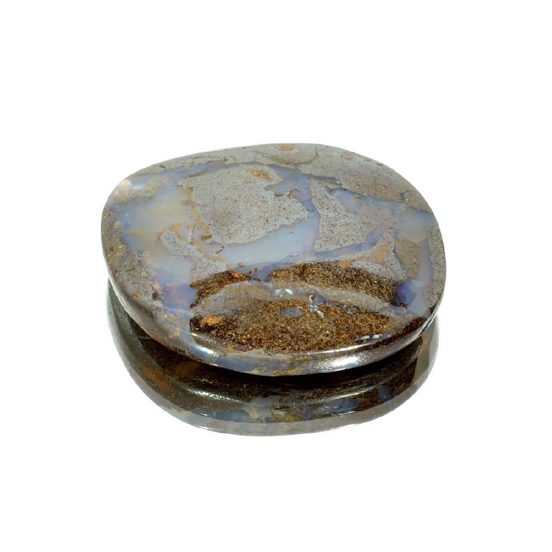 APP: 2.3k 93.90CT Free Form Cabochon Brown Boulder Opal