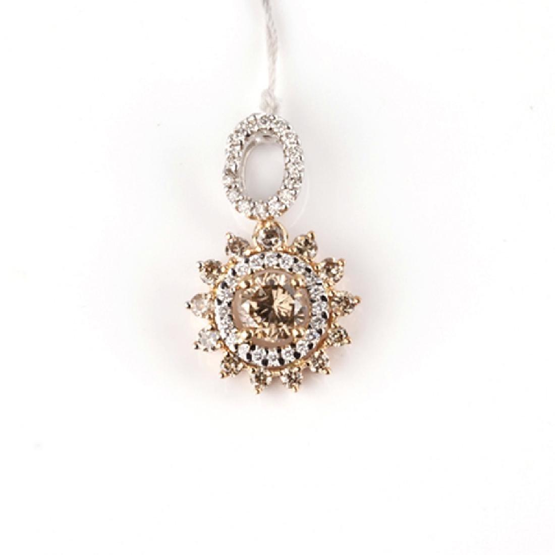 *Fine Jewelry 14 kt. Gold, New Custom Made 1.13CT