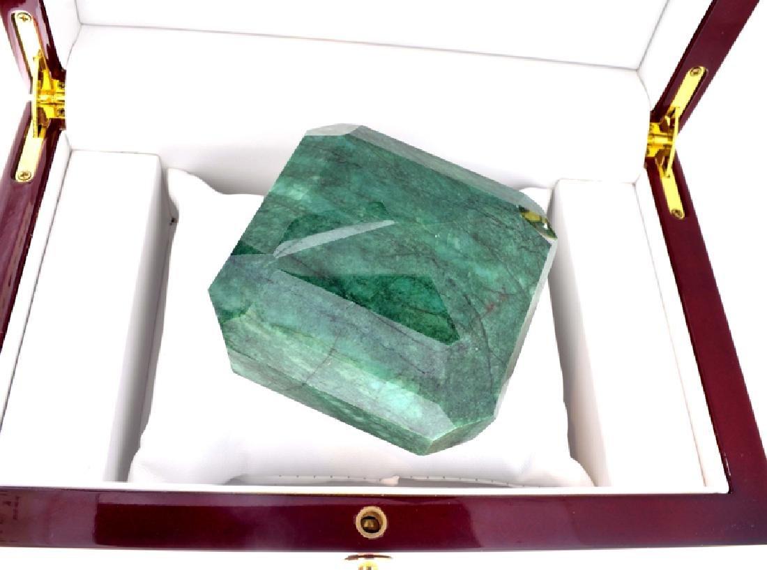 APP: 9.6k 1,925.50CT Emerald Cut Green Beryl Emerald - 2
