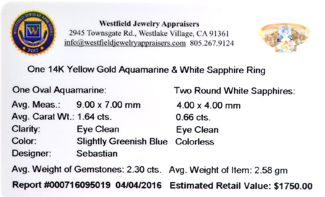 Fine Jewelry Designer Sebastian 14KT Gold, 2.30CT - 2