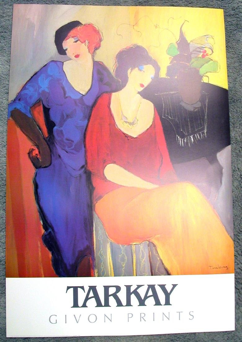 TARKAY (After) Waiting Print, 36'' x 24''