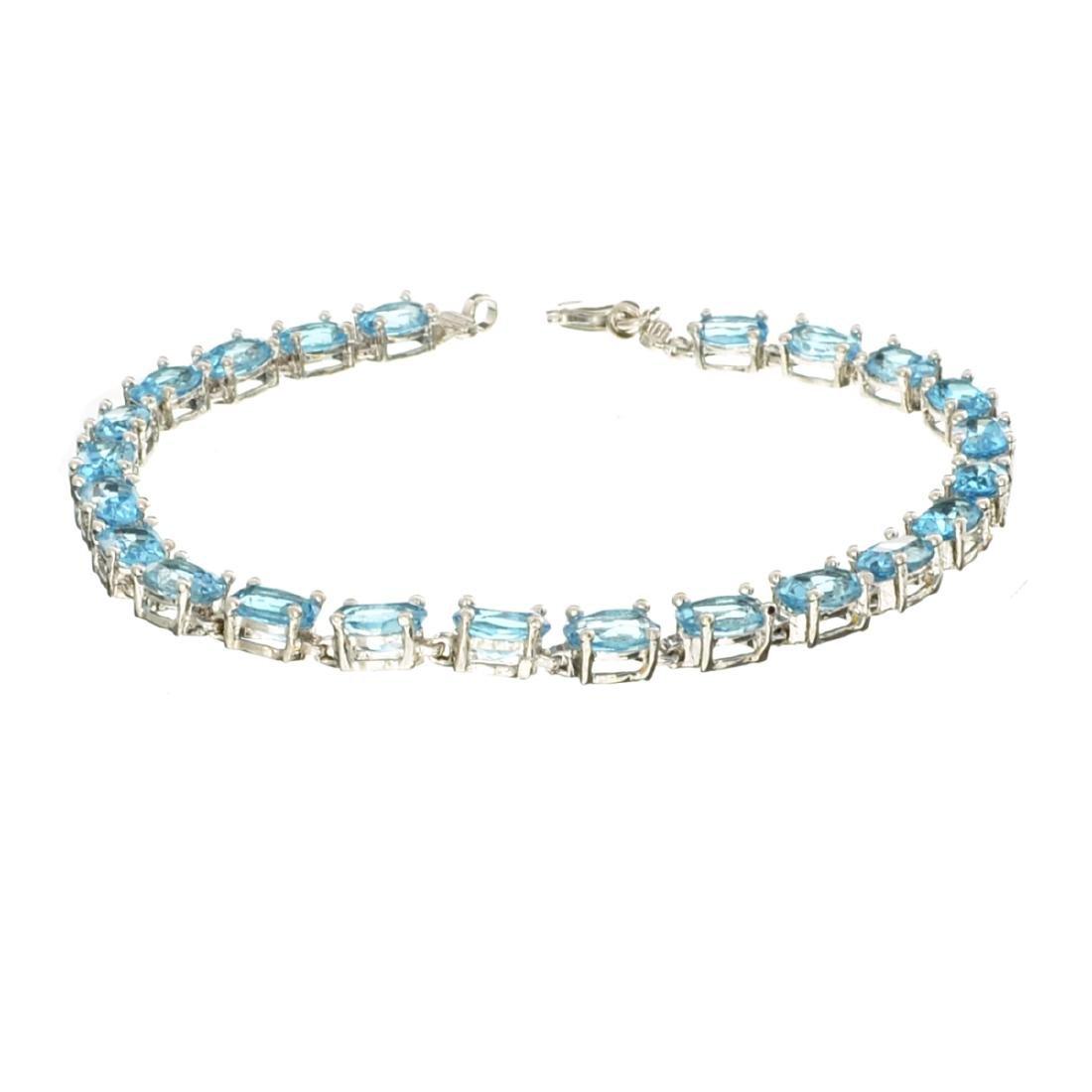 APP: 0.9k Fine Jewelry 9.70CT Oval Cut Blue Topaz And