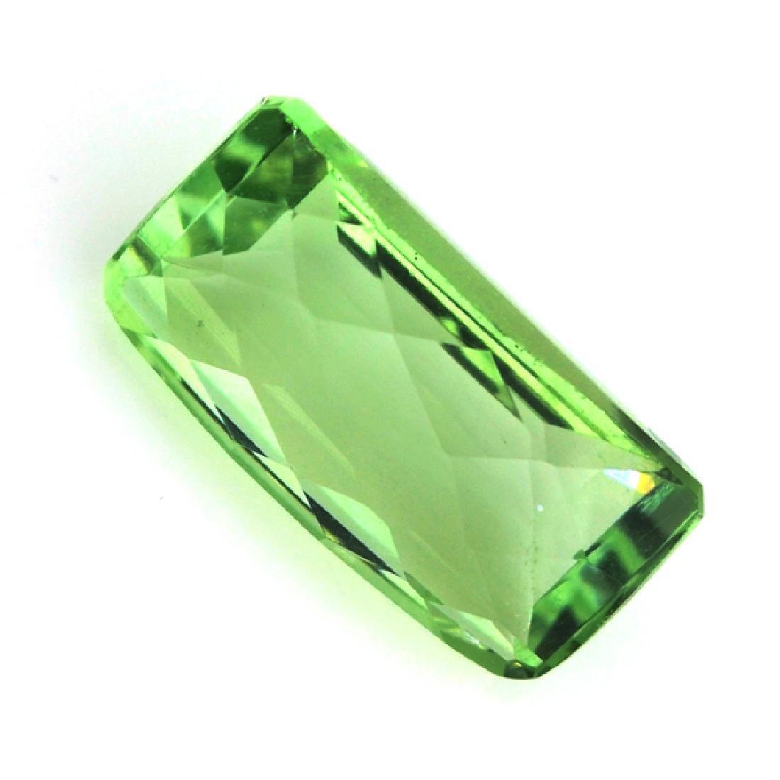 APP: 0.5k 13.26CT Rectangular Cut Green Quartz Gemstone