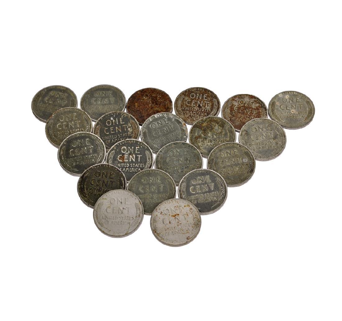20 1943 Steel Pennies Coin - 2