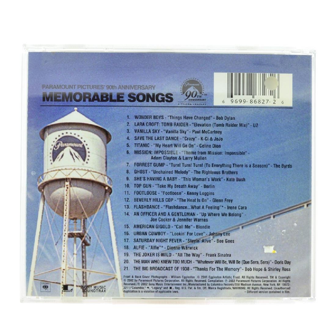 Paramount Pictures 90th Anniversary Memorable Songs CDs - 2