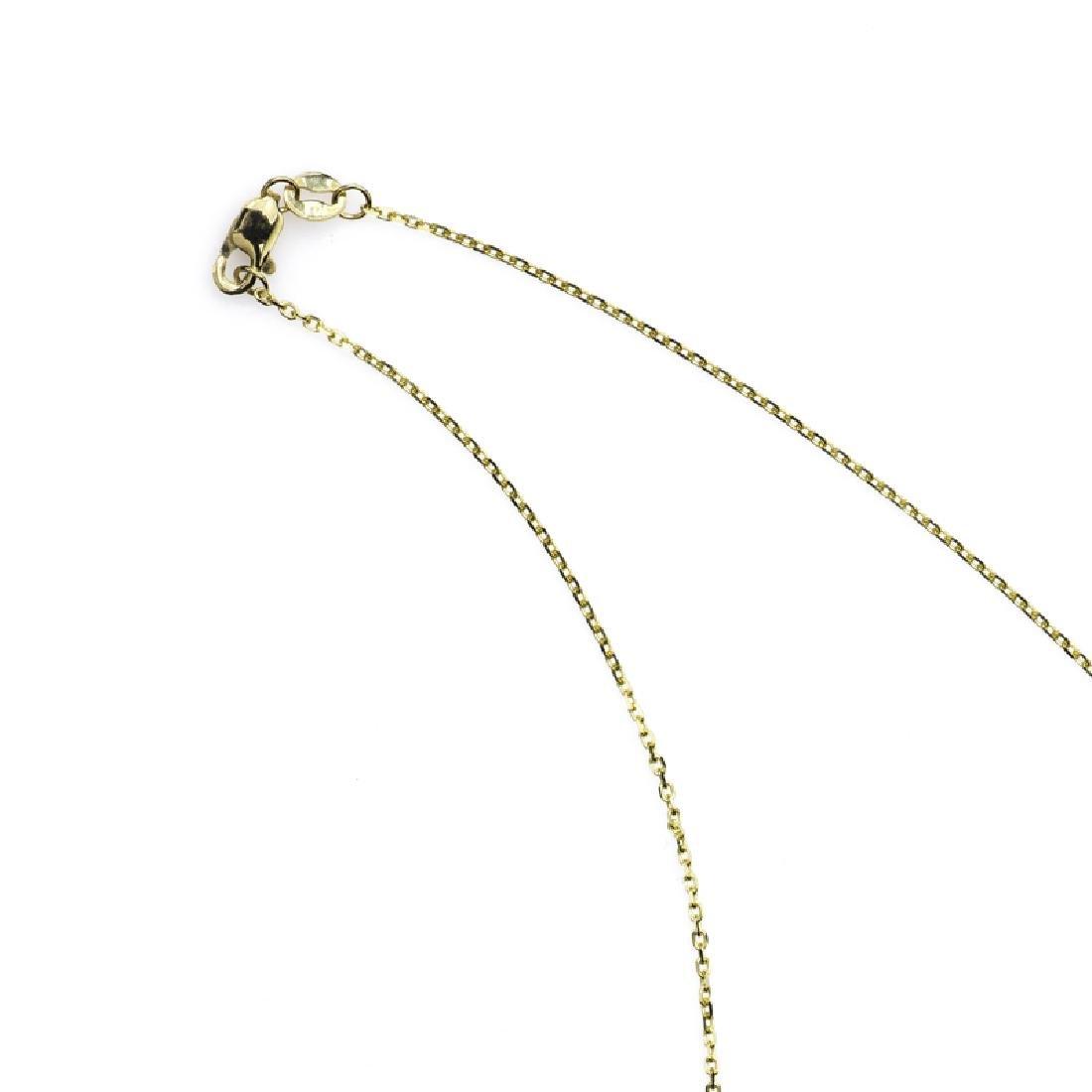 *Fine Jewelry 14KT Gold, Diamond Cut, 1.8GR. 18'' Chain - 2
