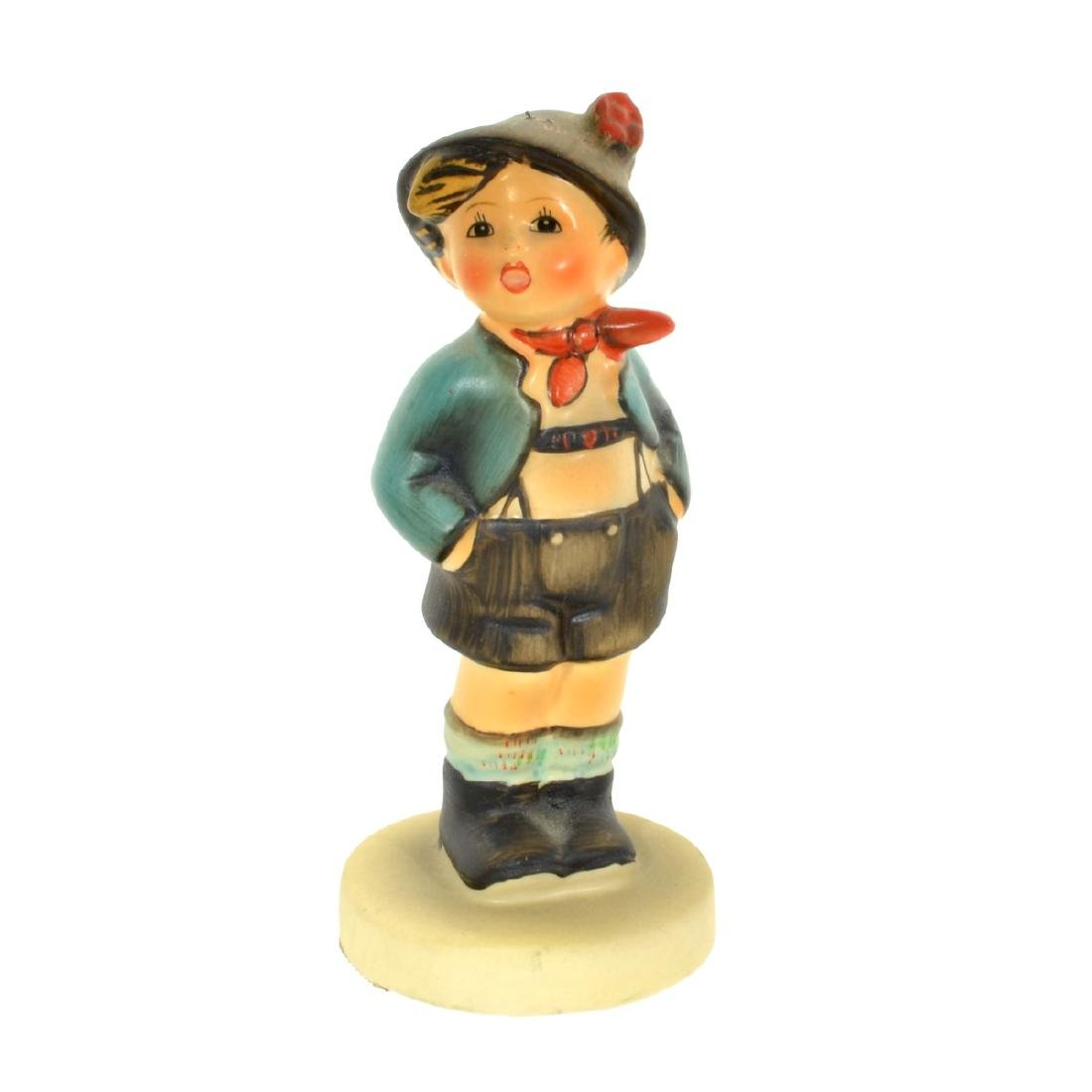 Porcelain Alpine Boy Figurine