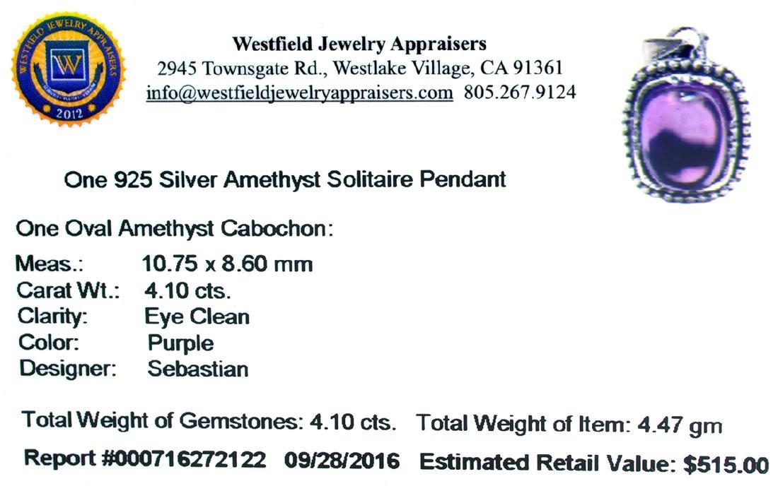 Fine Jewelry Designer Sebastian 4.10CT Oval Cut - 2