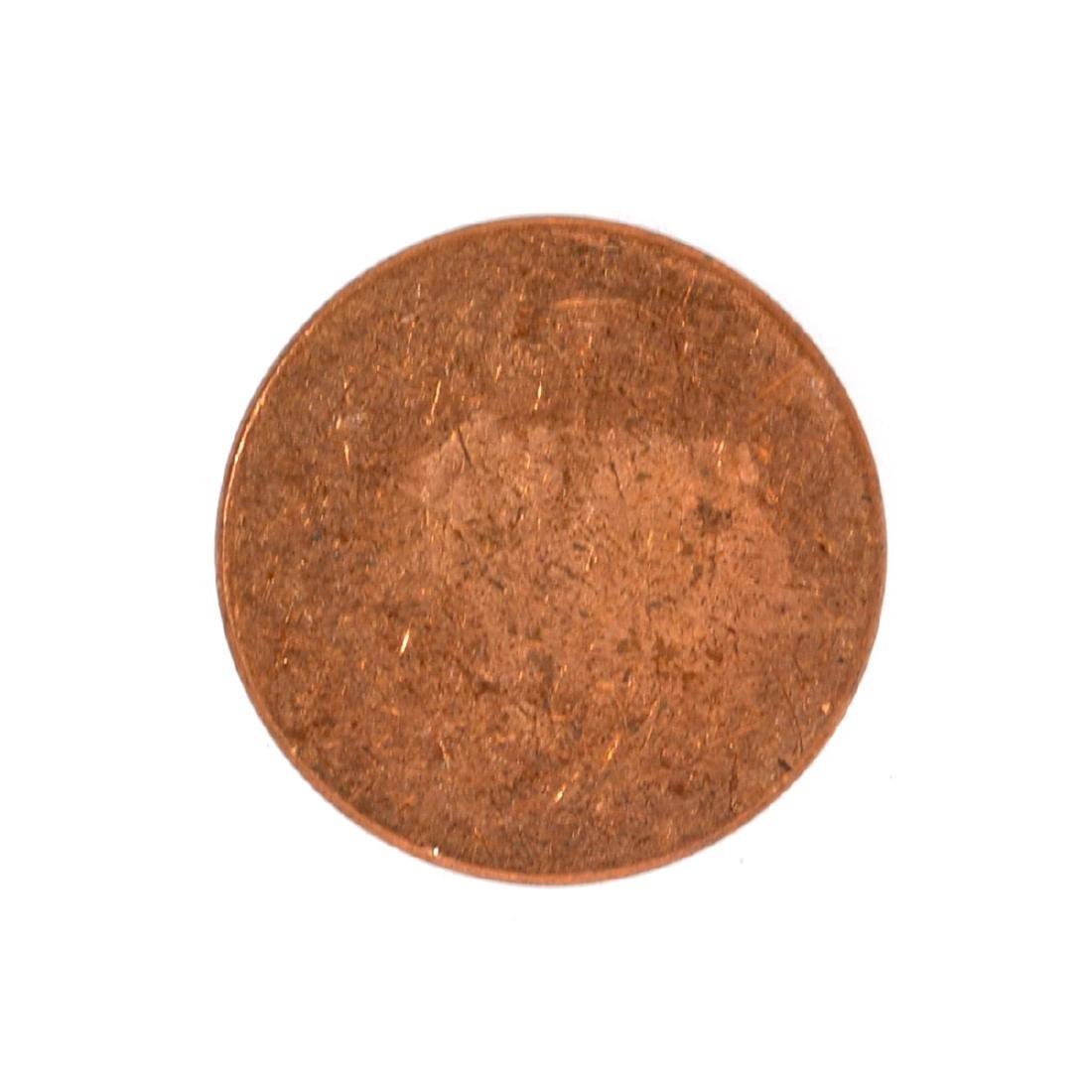 Mint U.S. 1 Cent Blank Planchet Coin - 2