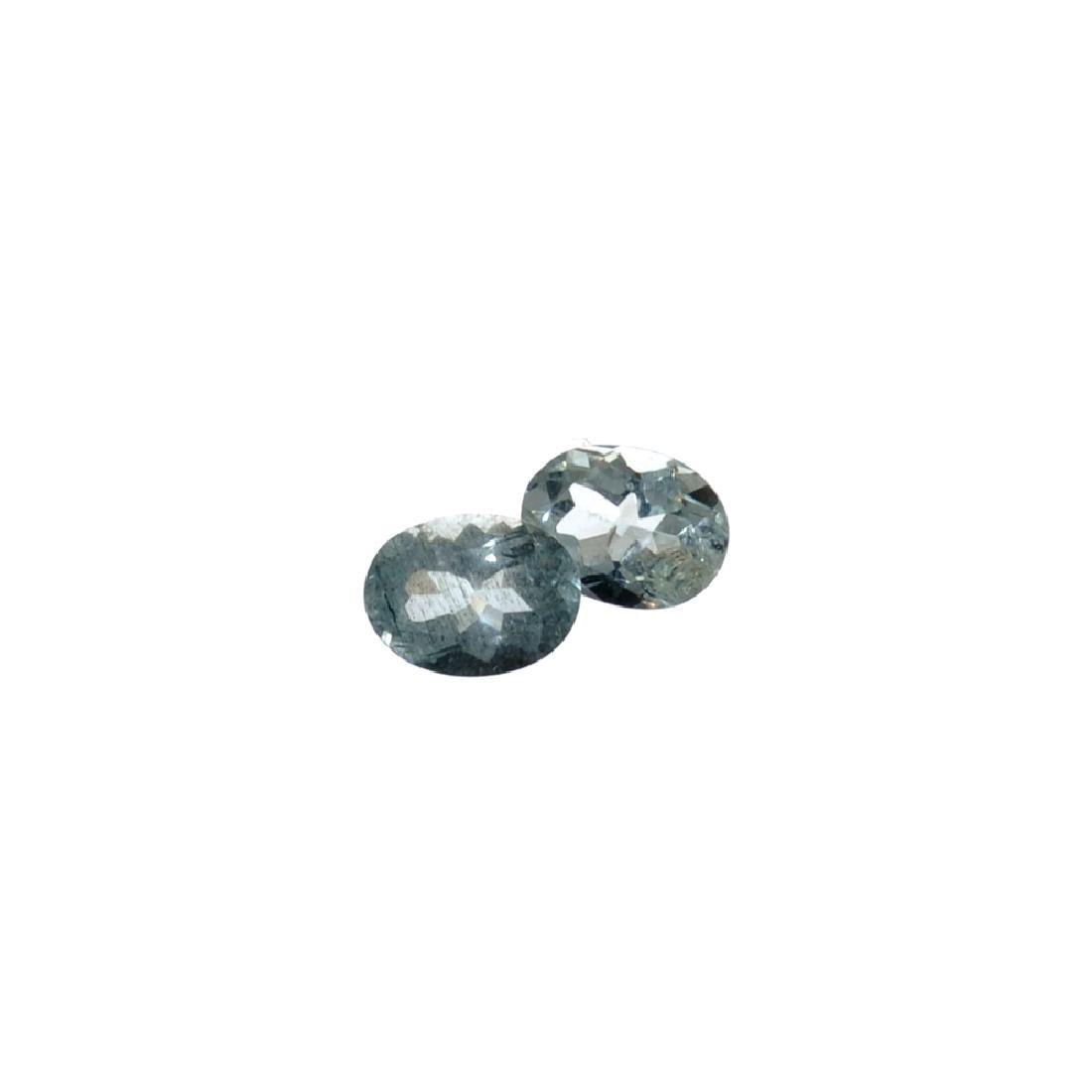 APP: 1k 2.55CT Oval Mixed Cut Natural Aquamarine Parcel