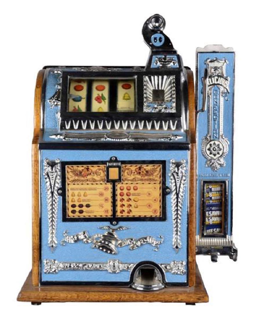 Rare Antique 5¢ Mills Operators Bell Vender Slot