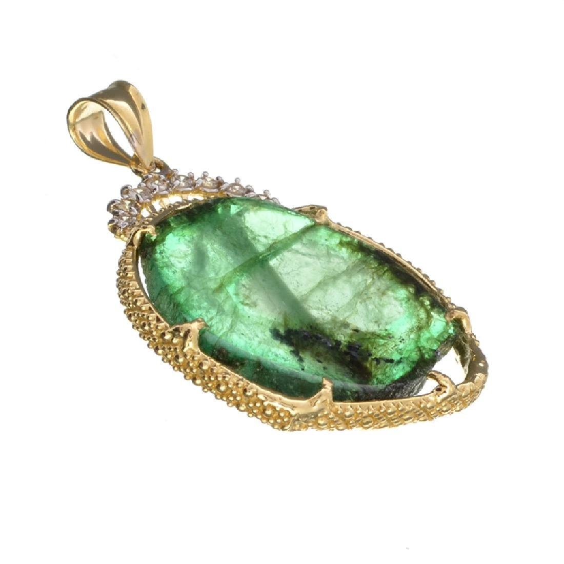 APP: 18.2k Fine Jewelry 14KT Gold, 17.16CT Columbian