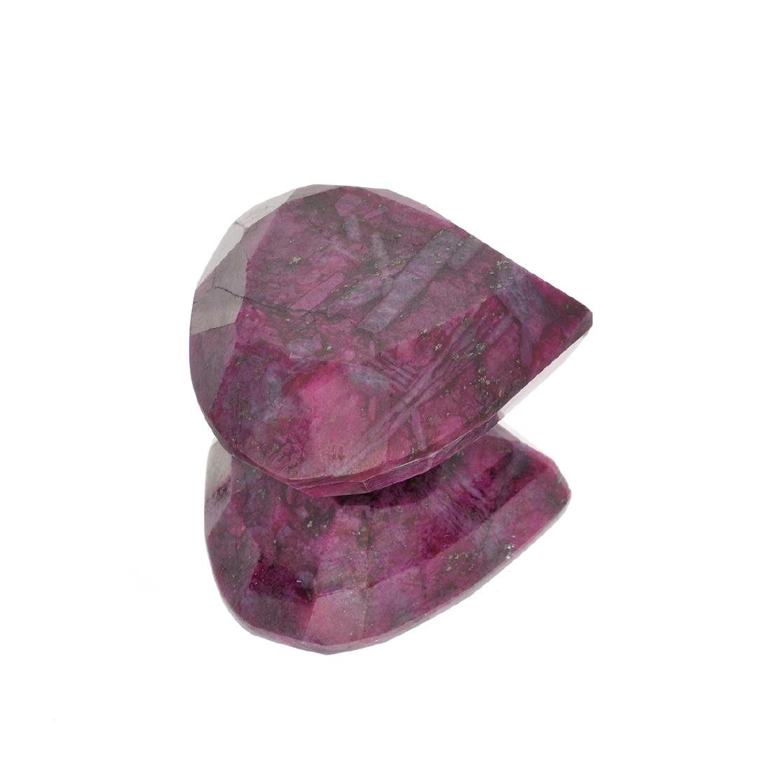 APP: 1.2k 462.60CT Pear Cut Ruby Gemstone