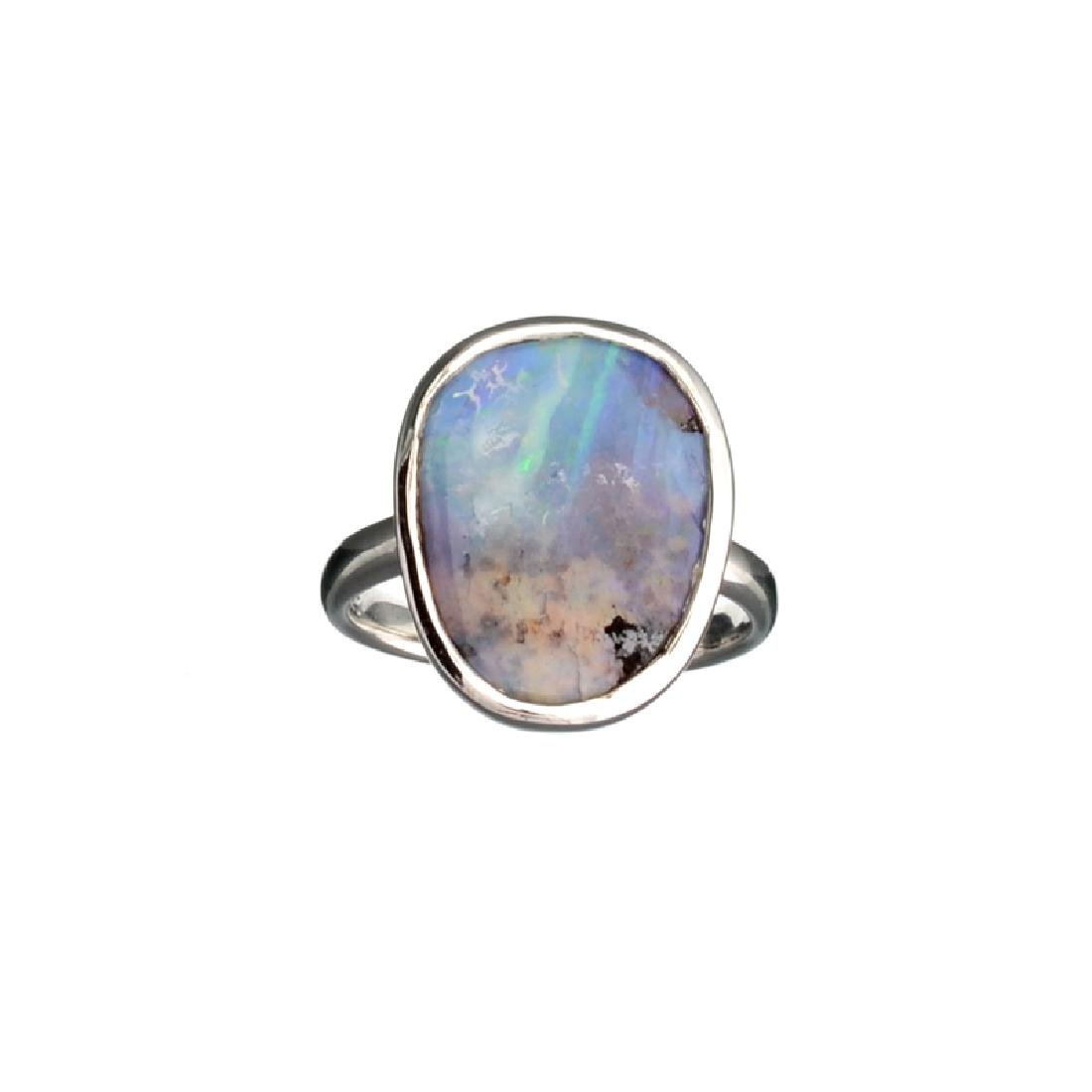 APP: 0.9k Fine Jewelry 4.64CT Free Form Blue-Green