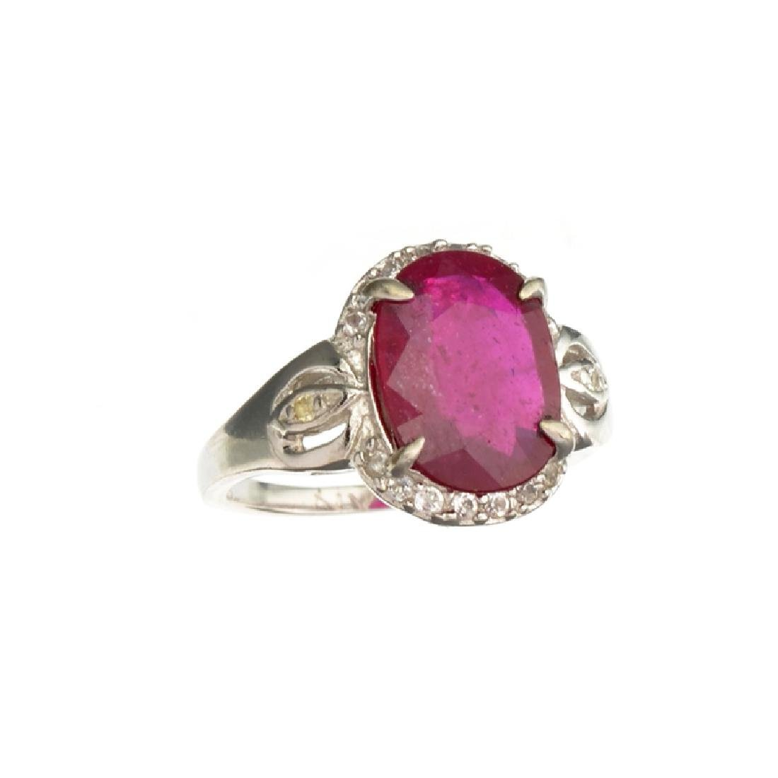 Fine Jewelry Designer Sebastian 4.41CT Ruby And