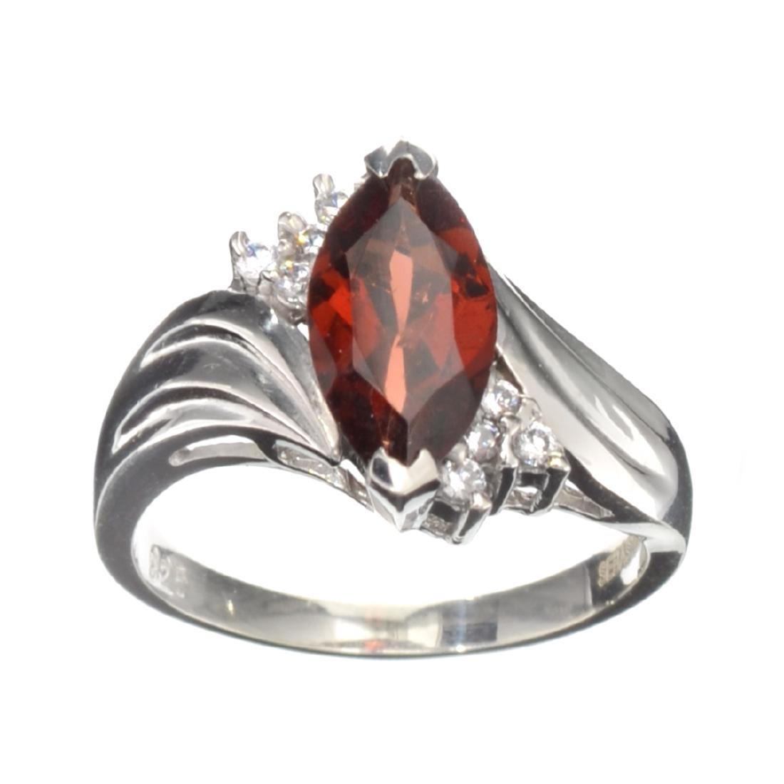 Fine Jewelry Designer Sebastian 2.42CT Almandite Garnet