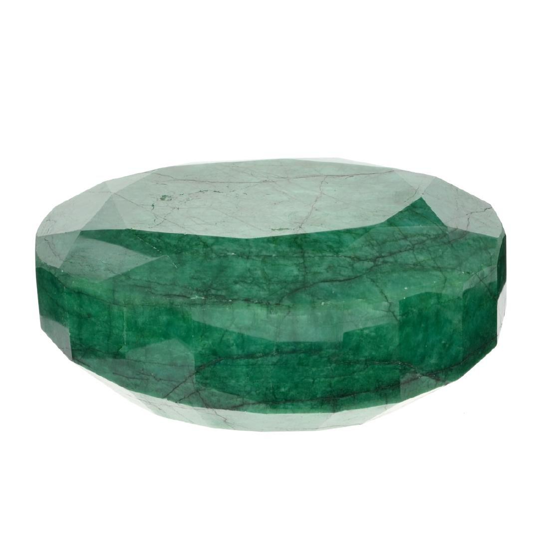 APP: 7.7k 3,075.90CT Oval Cut Green Beryl Emerald