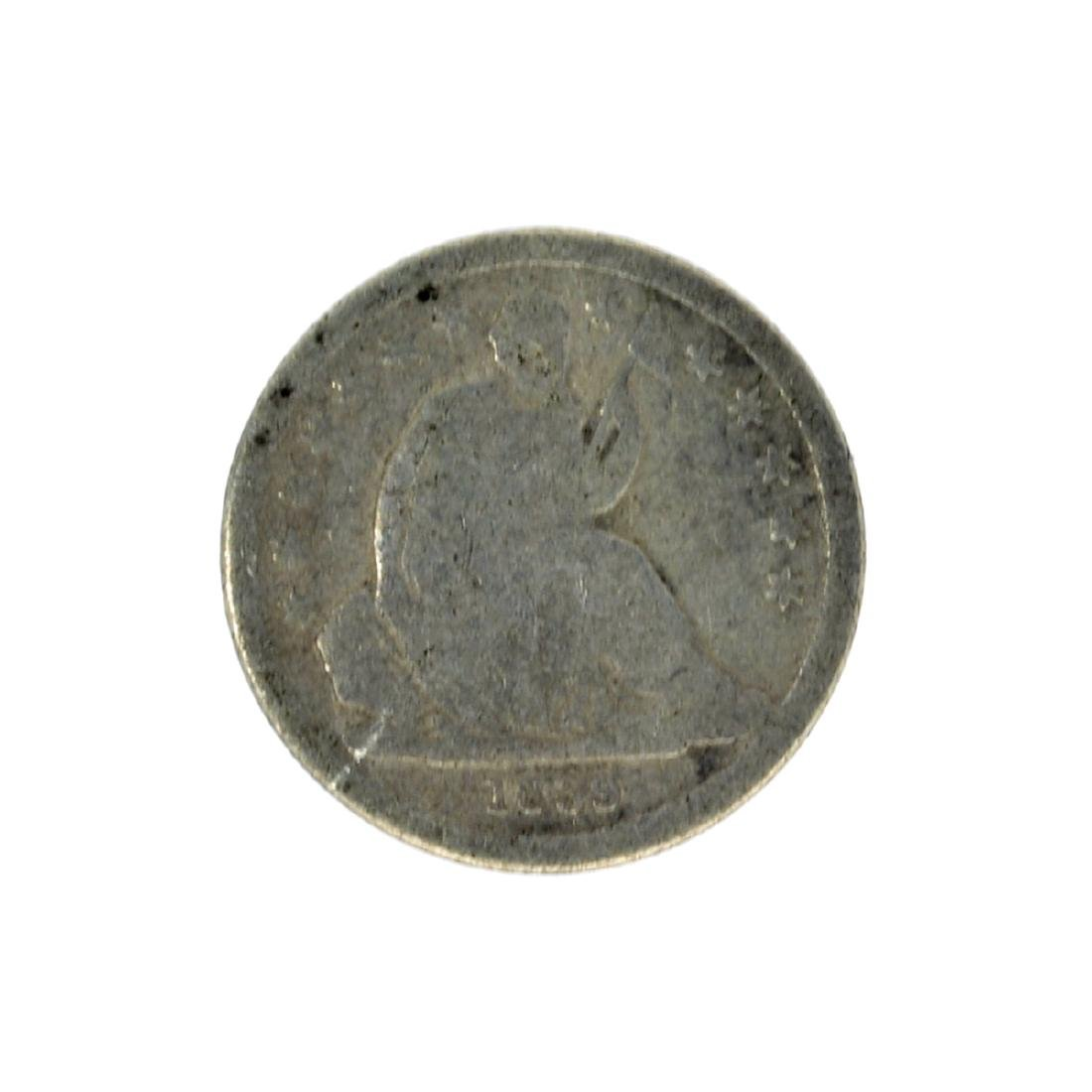 1839 Liberty Seated Dime Coin
