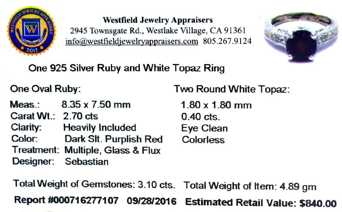 APP: 0.8k Fine Jewelry Designer Sebastian 3.10CT Ruby - 2