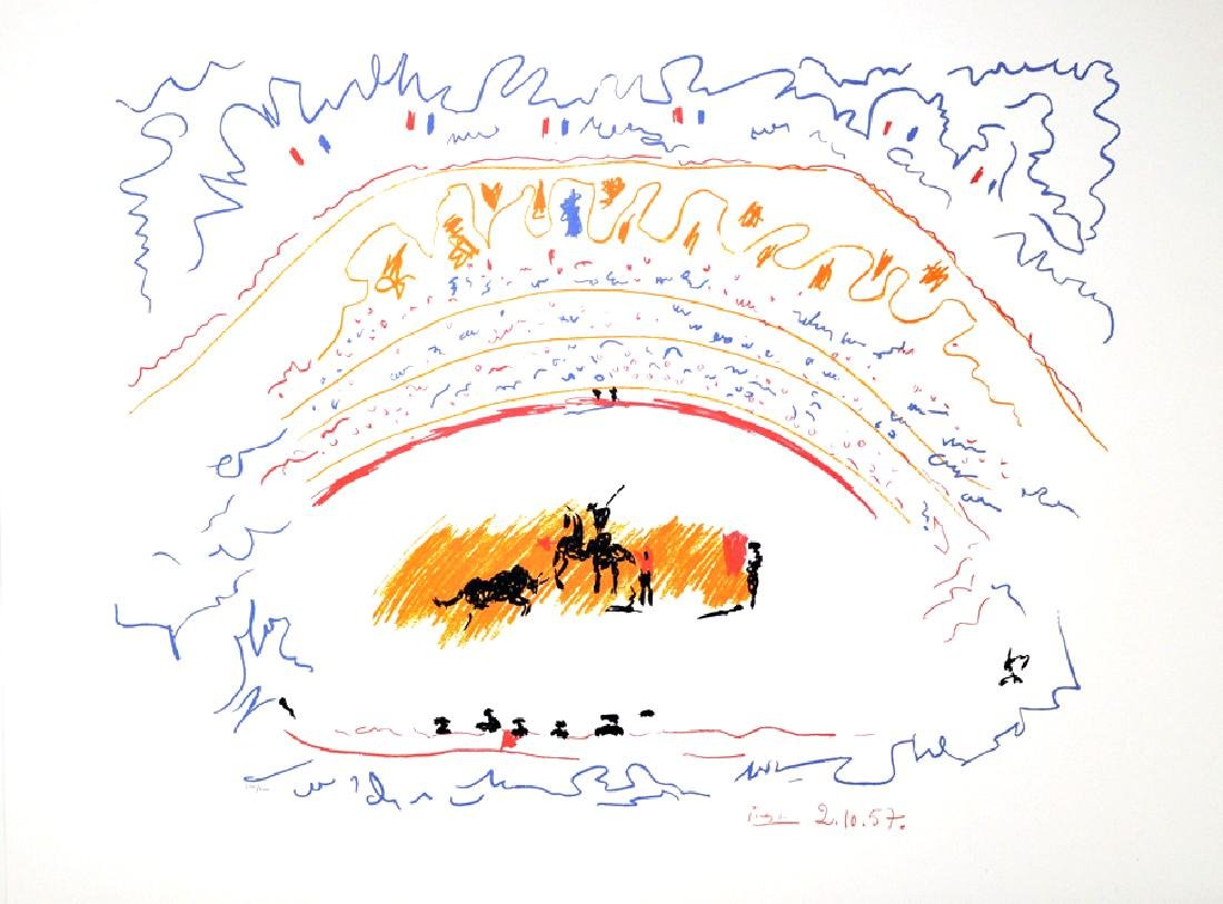 PABLO PICASSO (After) Corrida Print, 52 of 500