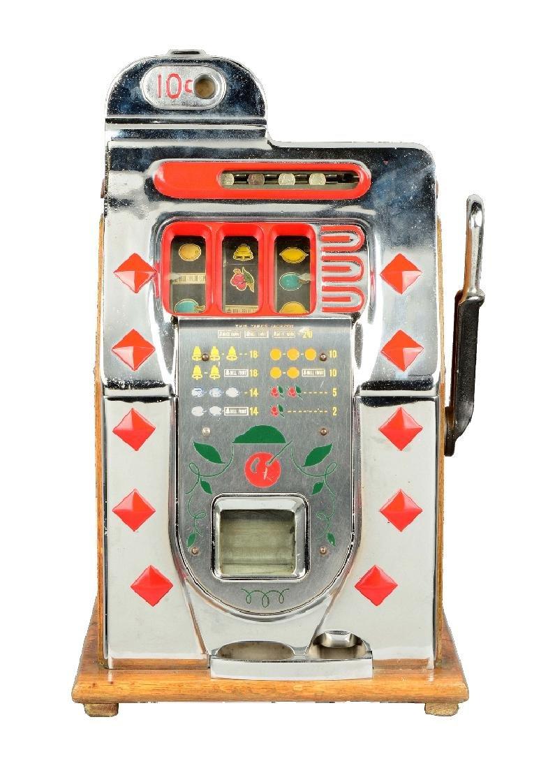 Extremely Rare 10¢ Mills Diamond Slot Machine -PNR-