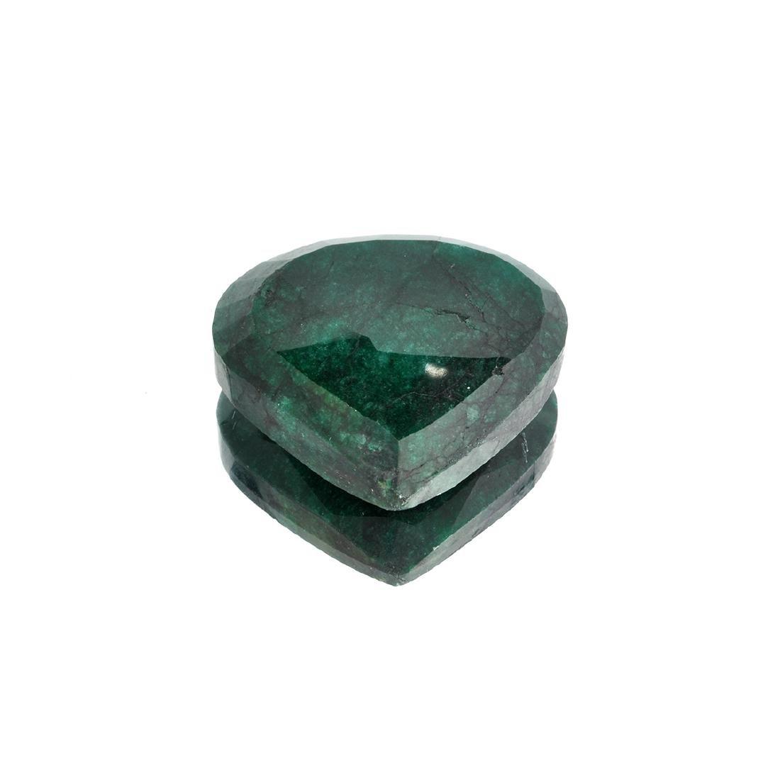 APP: 10.9k 181.45CT Pear Cut Green Emerald Gemstone