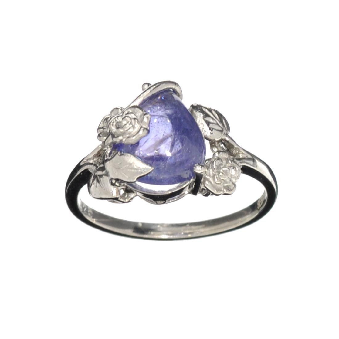 Fine Jewelry Designer Sebastian 3.50CT Pear Cut