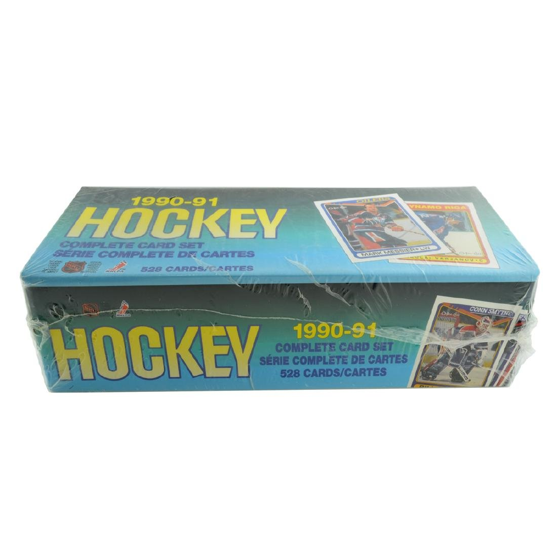 1990-91 O-Pee-Chee NHL Hockey Complete Card Set