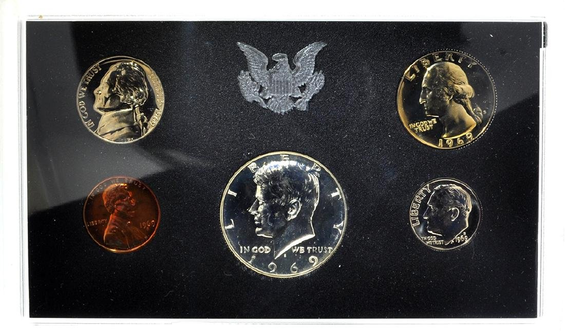 1969 United States Proof Coin Set