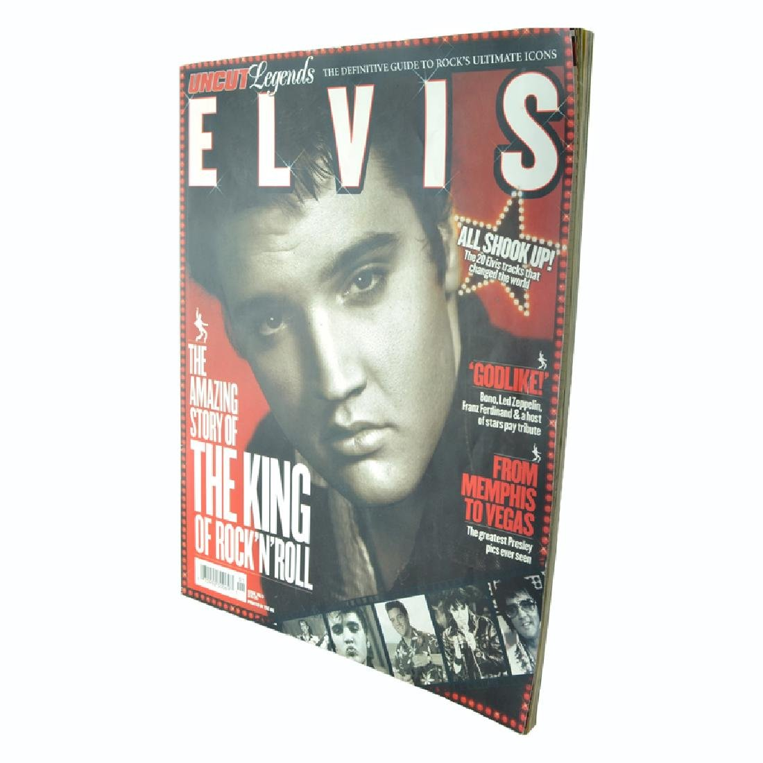 Uncut Legends Vol. 5 - Elvis (Paperback)