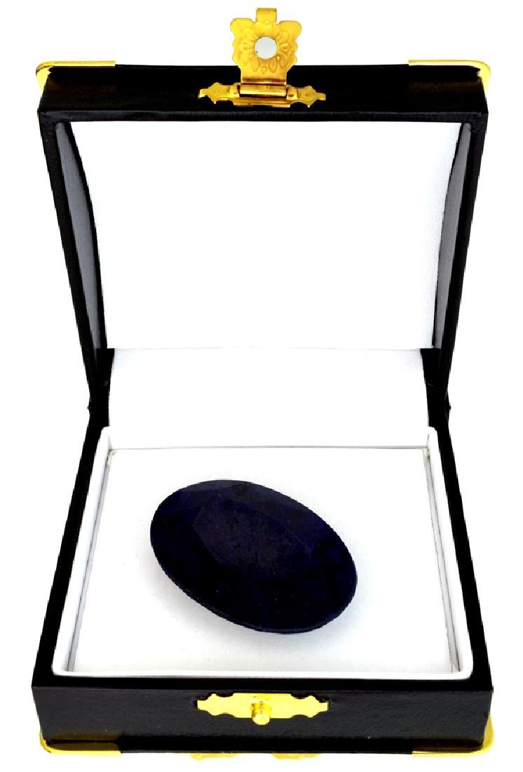 88.85CT Oval Cut Blue Sapphire Gemstone