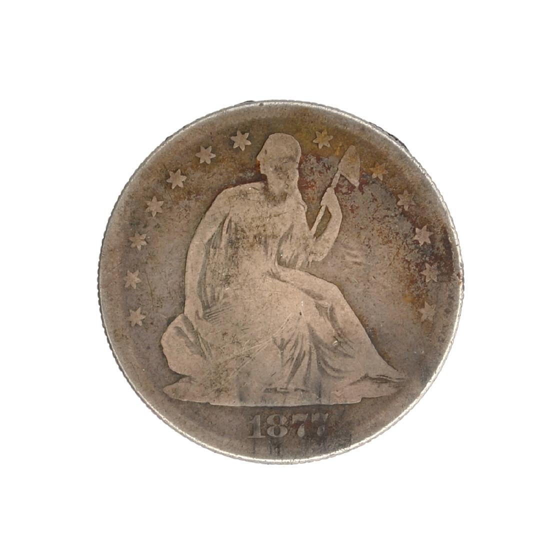 1877-S Liberty Seated Half Dollar Coin