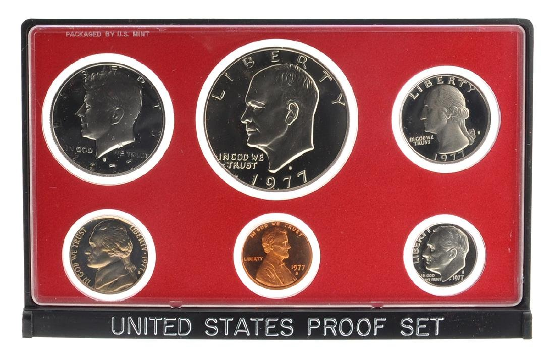1977 United States Proof Coin Set
