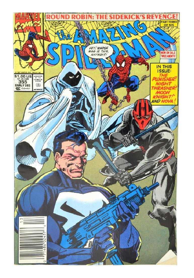 Amazing Spider-Man (1963 1st Series) Issue #355
