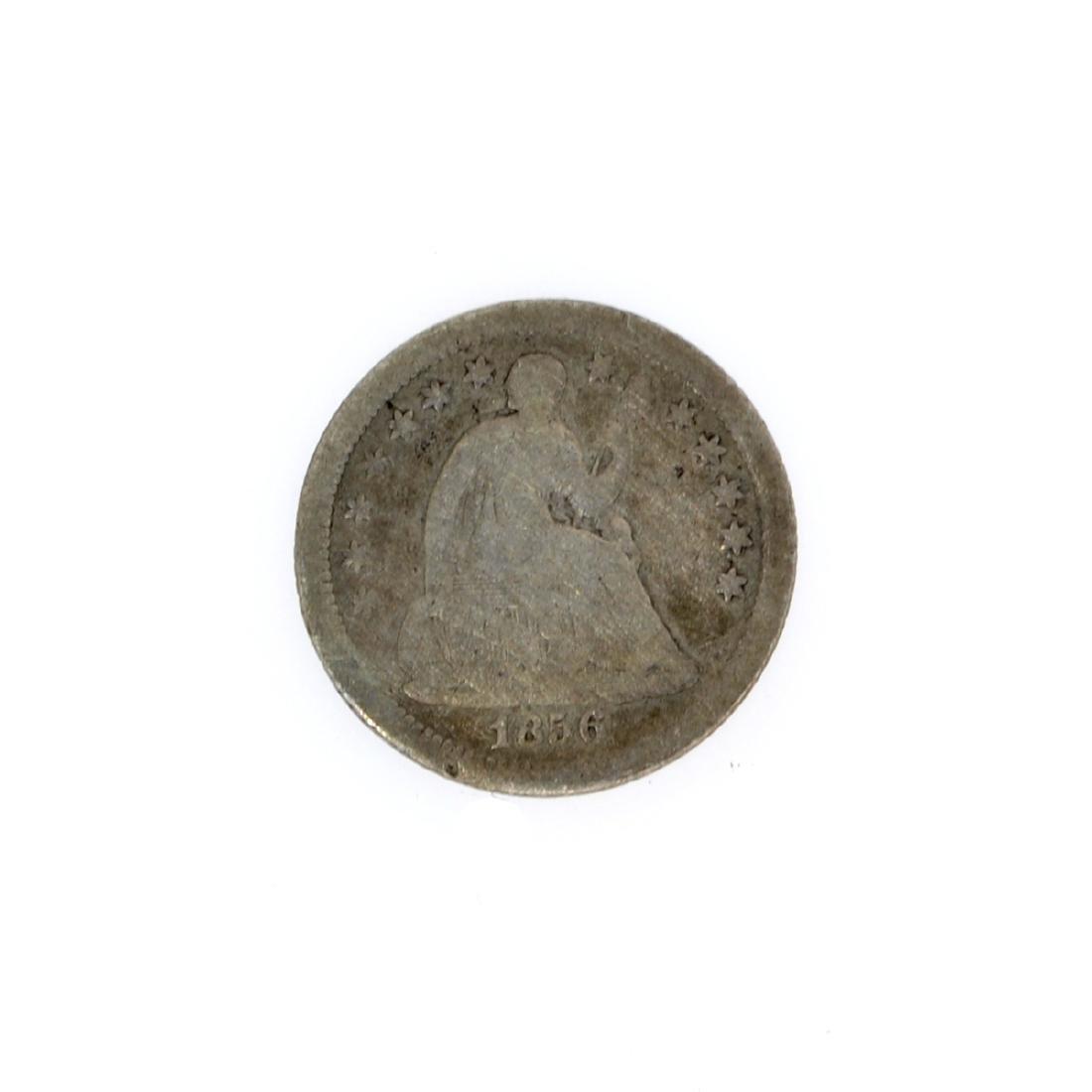 Rare 1856-O Liberty Seated Half Dime Coin
