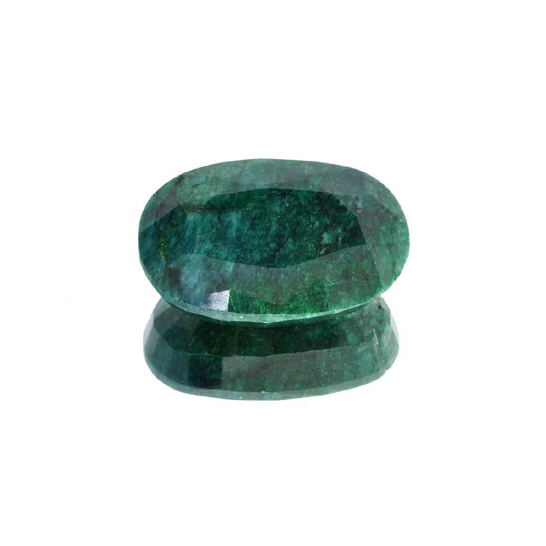 APP: 8.5k 126.09CT Oval Cut Green Emerald Gemstone