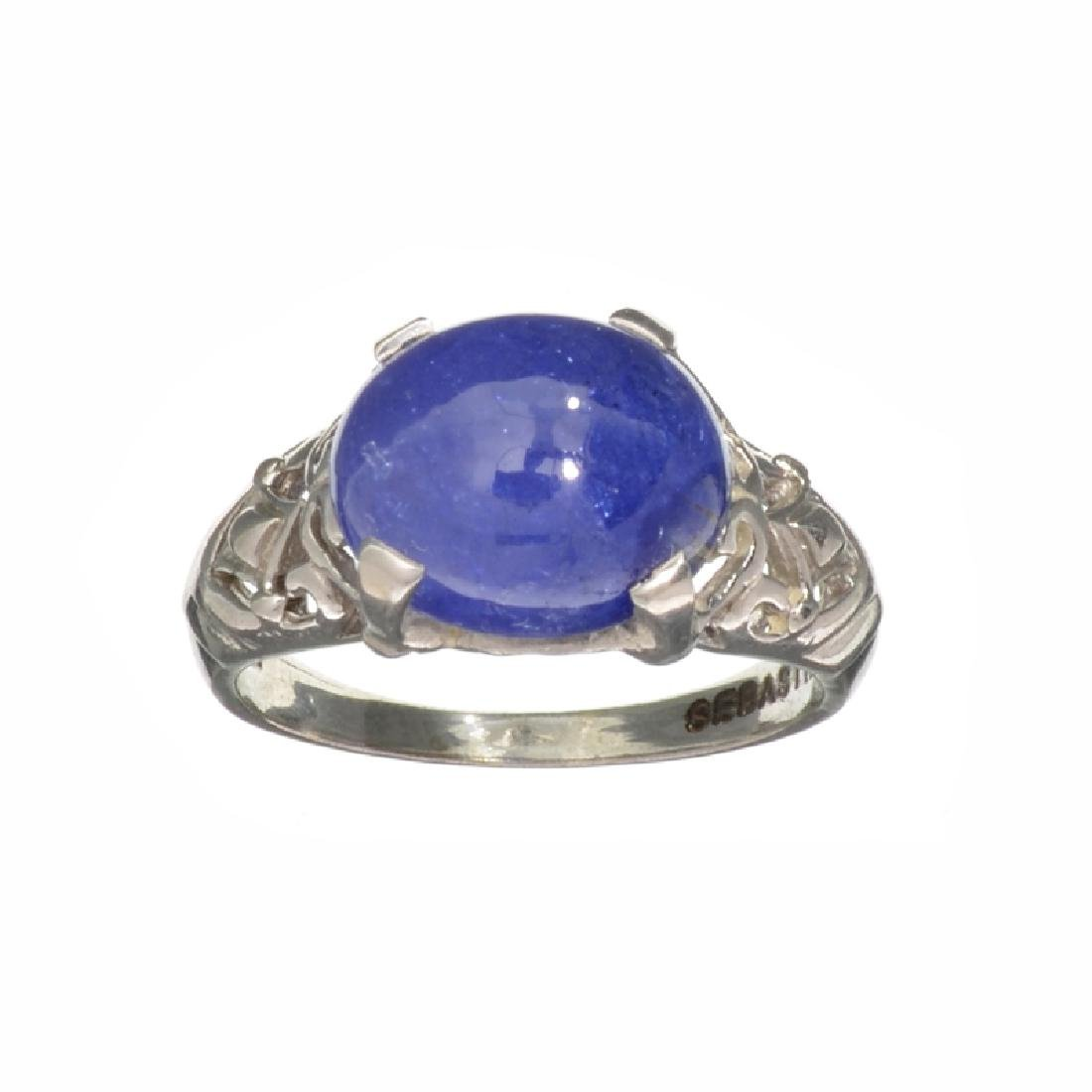 Fine Jewelry Designer Sebastian 5.38CT Oval Cut