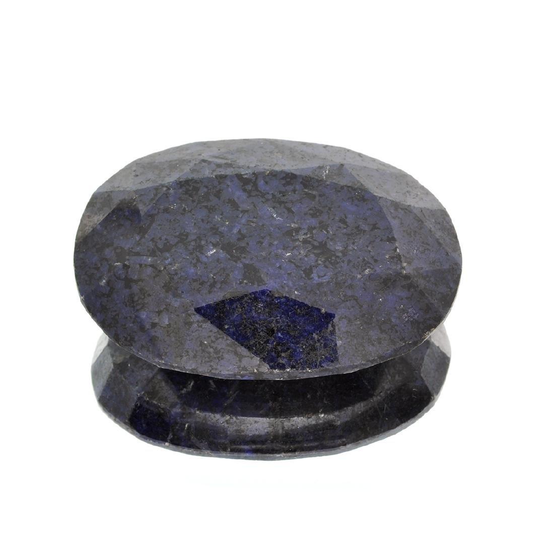 APP: 1.6k 656.20CT Oval Cut Blue Sapphire Gemstone