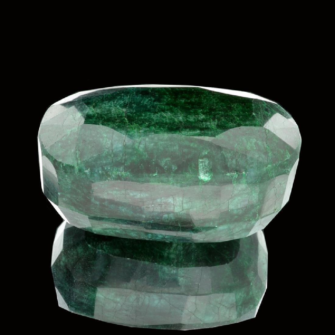 APP: 65.4k 2,515.45CT Oval Cut Emerald Gemstone