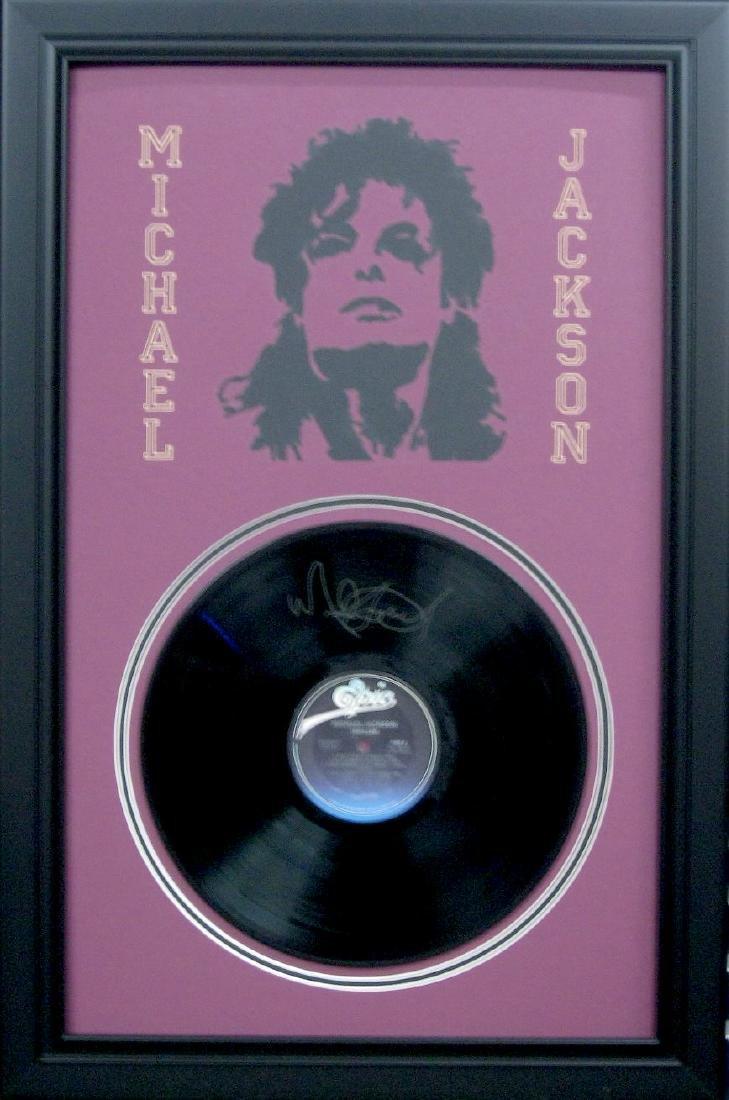 Michael jackson Vinyl Engraved Signature Laser Cut Mat