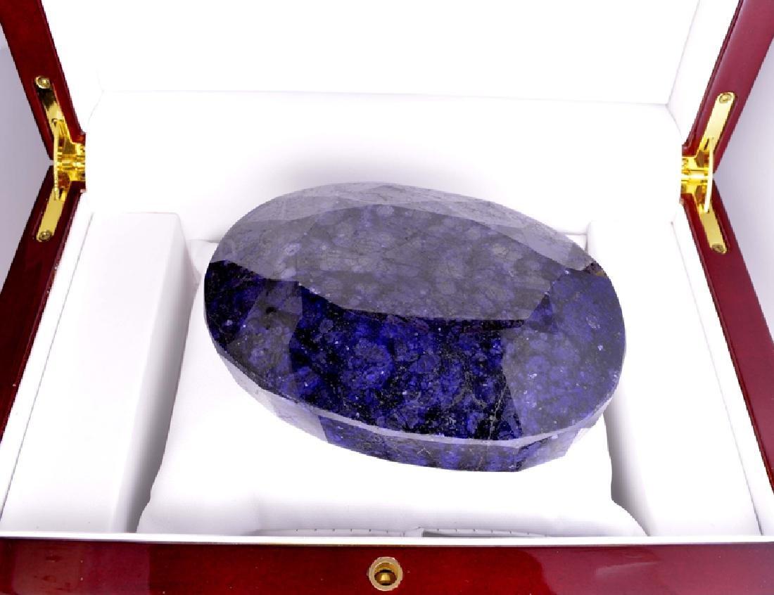 APP: 9.5k 2,384.50CT Oval Cut Blue Sapphire Gemstone