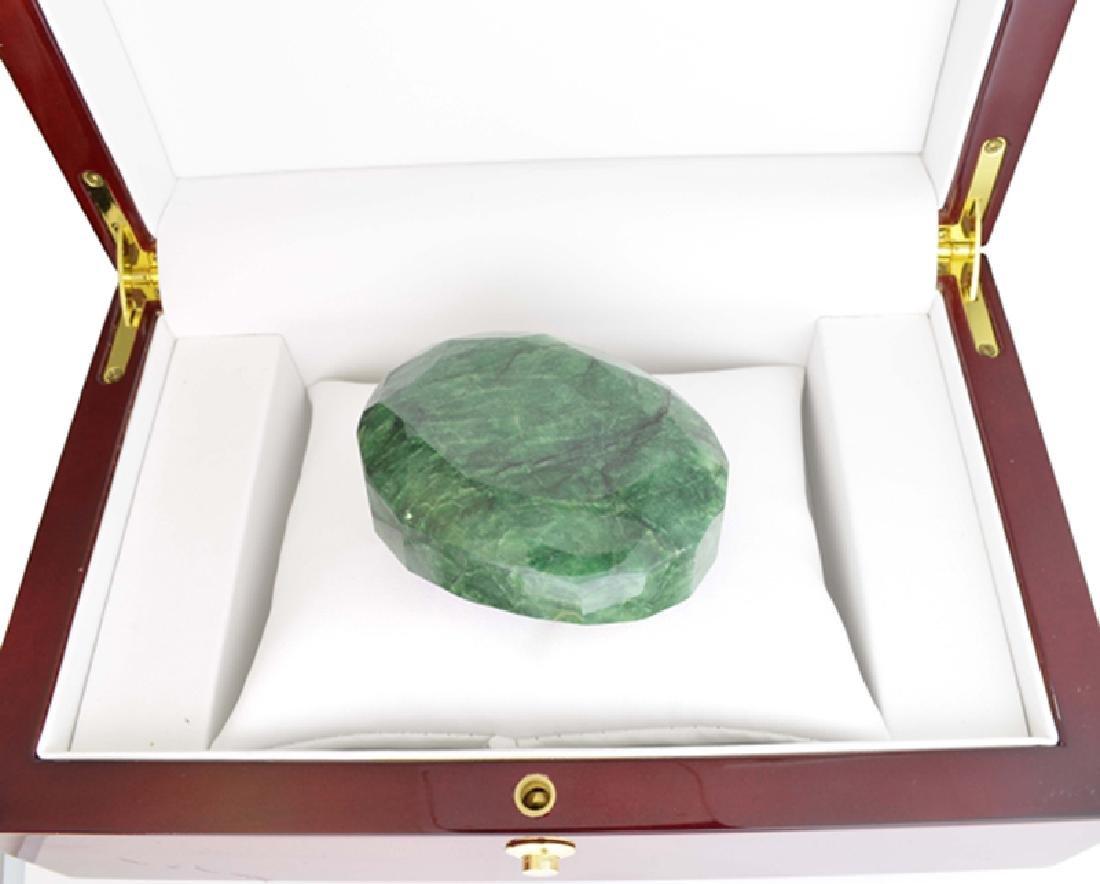 APP: 7.4k 1055.05CT Oval Cut Green Beryl Emerald
