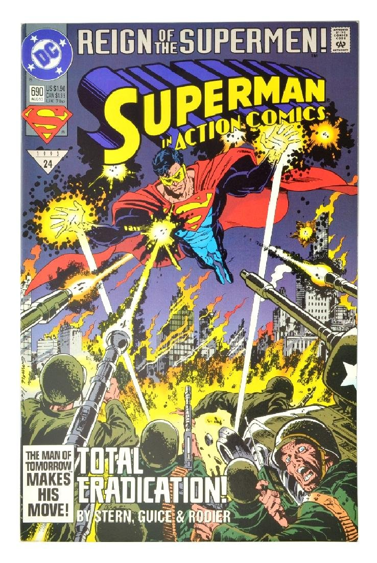 Action Comics (1938 DC) Issue #690