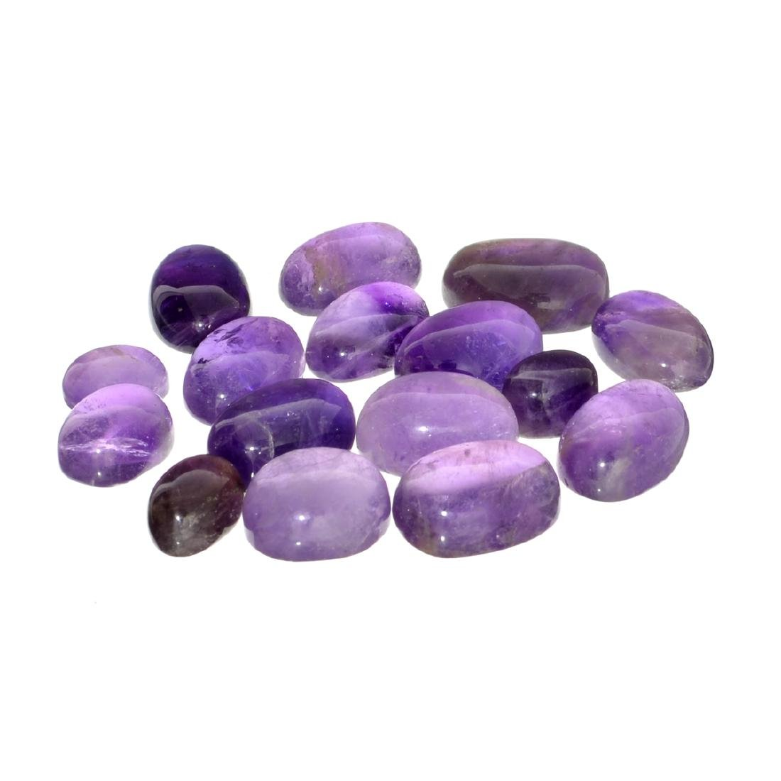 APP: 2.2k 100.00CT Various Shapes And Sizes Amethyst