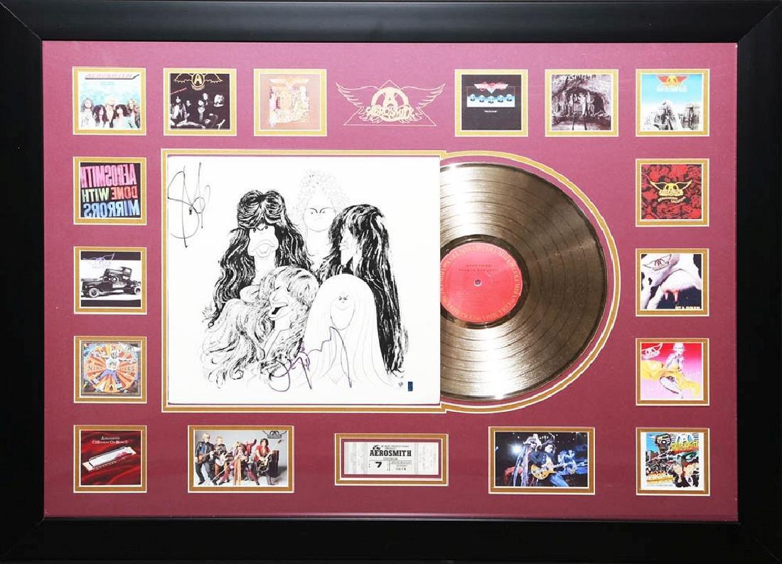 Perry & Tyler Aerosmith Collage with Album
