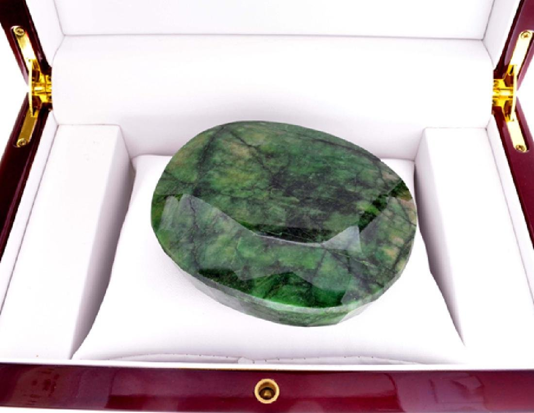 APP: 9.5k 1352.12CT Oval Cut Green Beryl Emerald